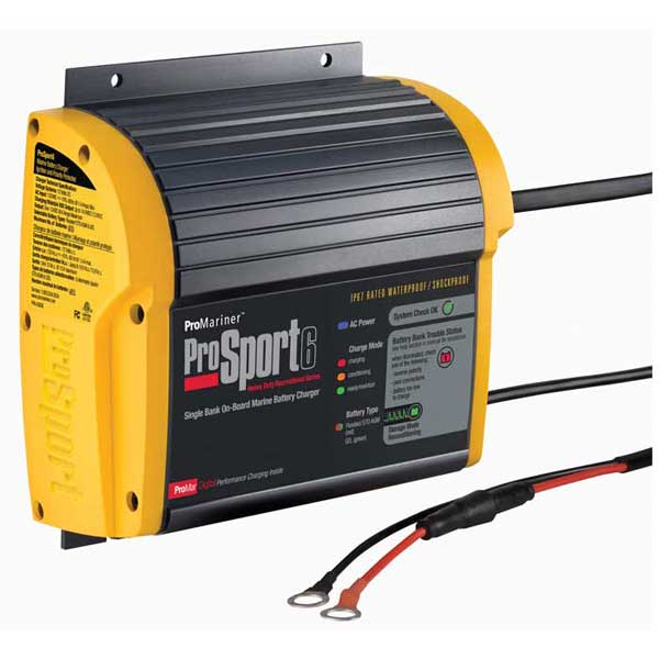 Marine Battery Charger And Monitor : Professional mariner prosport heavy duty marine battery