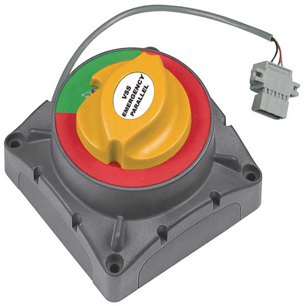 High Current Remote Operated Voltage Sensitive Switch,  500 Amps