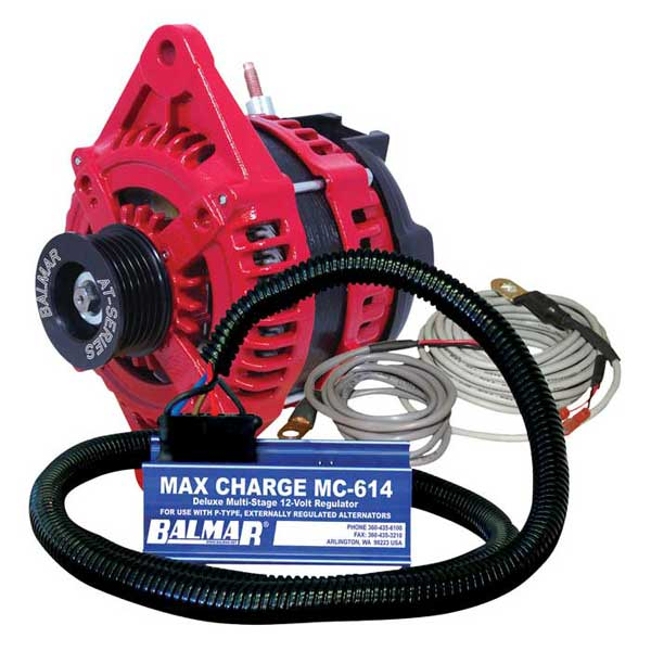 Balmar 1 or 2 Single Foot Mounting, 1905A Output, 5-3/4dia. x 6-1/2L Case Size Sale $1839.99 SKU: 14152714 ID# ATSF190-12MCKIT UPC# 676205138055 :