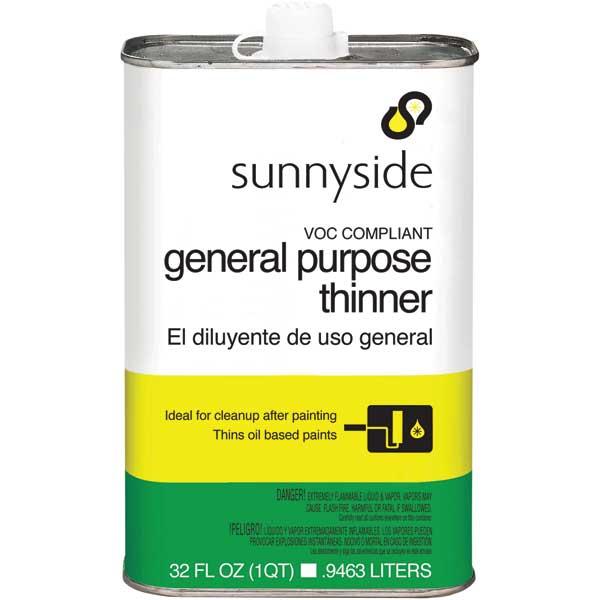 Sunnyside Corp. Paint Thinner Qt.