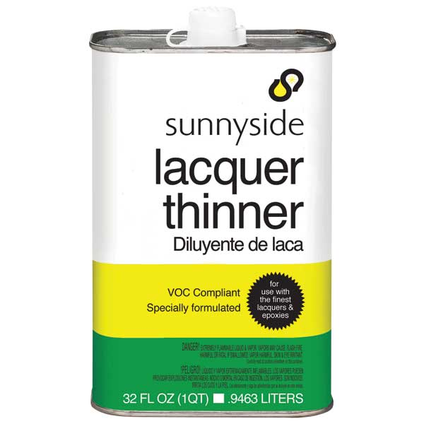 Sunnyside Corp. Lacquer Thinner Qt.