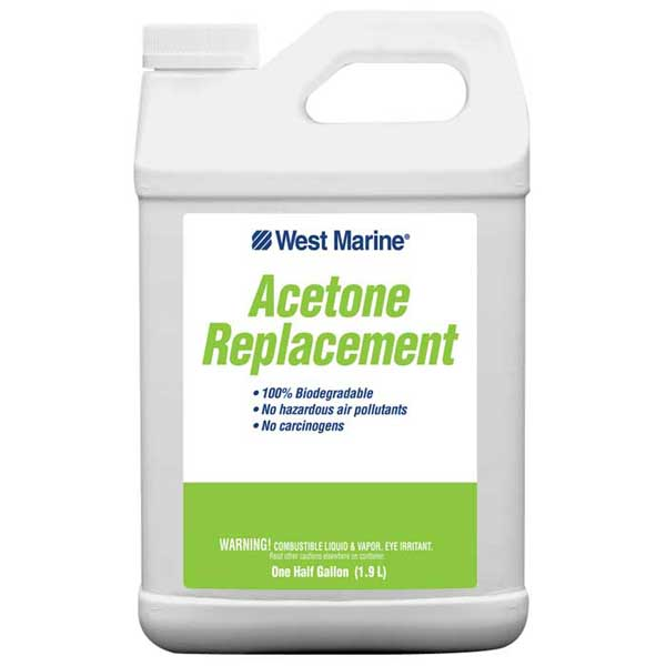 Acetone Replacement Solvent, 1/2 Gallon