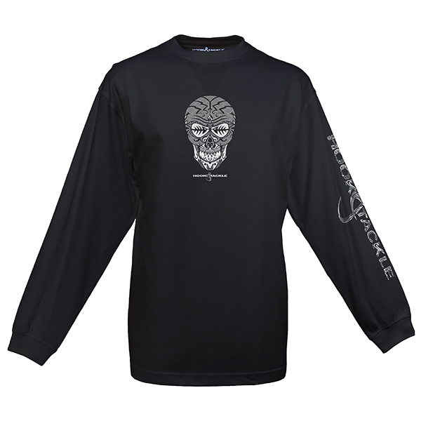 Men's Skullfish Tech Tee, Black, M