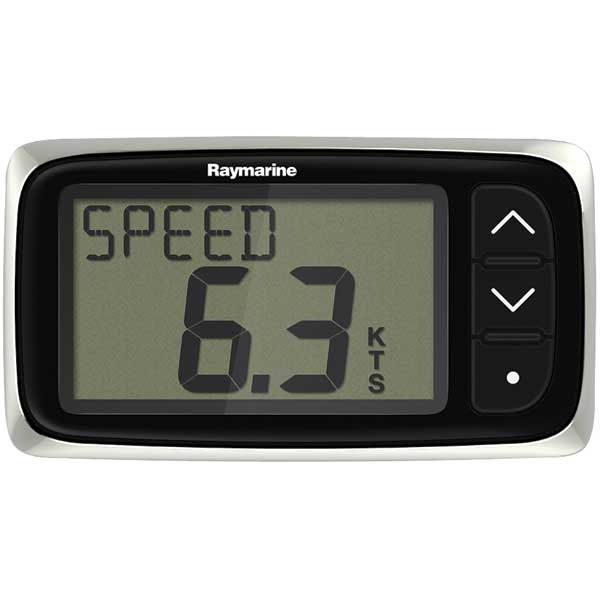 i40 Speed Instrument with Thru-hull Transducer