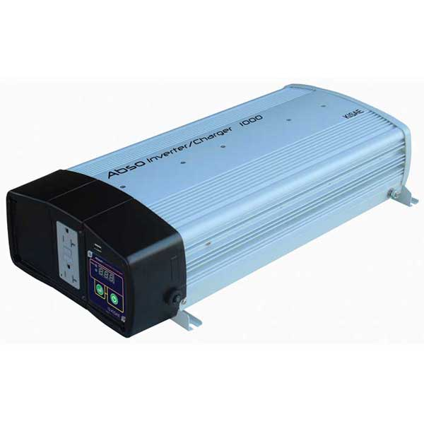 Kisae Technology Pure Sine Wave Inverter/Charger, 1000W, 40A