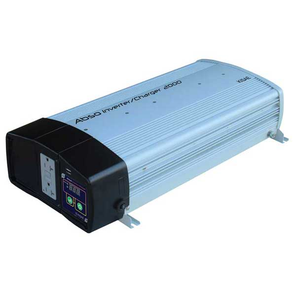 Kisae Technology Pure Sine Wave Inverter/Charger, 2000W, 55A