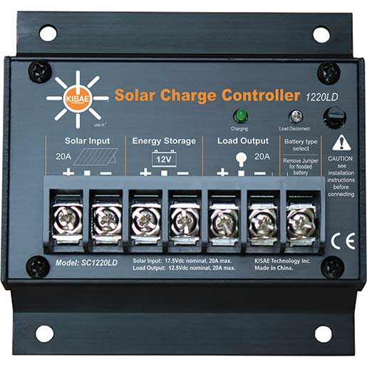 Kisae Technology Co Ltd. SC1220LD Solar Charge Controller Sale $44.99 SKU: 14160006 ID# SC1220LD UPC# 4897038150205 :
