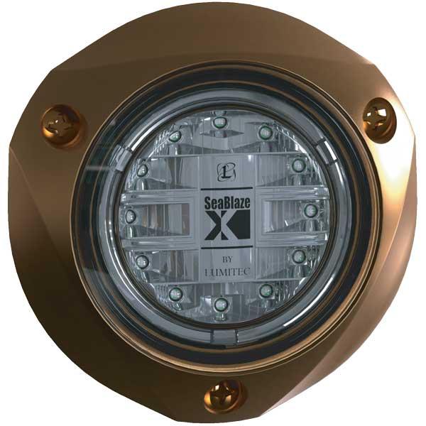 Lumitec Lighting SeaBlazeX Underwater LED Light, White Light