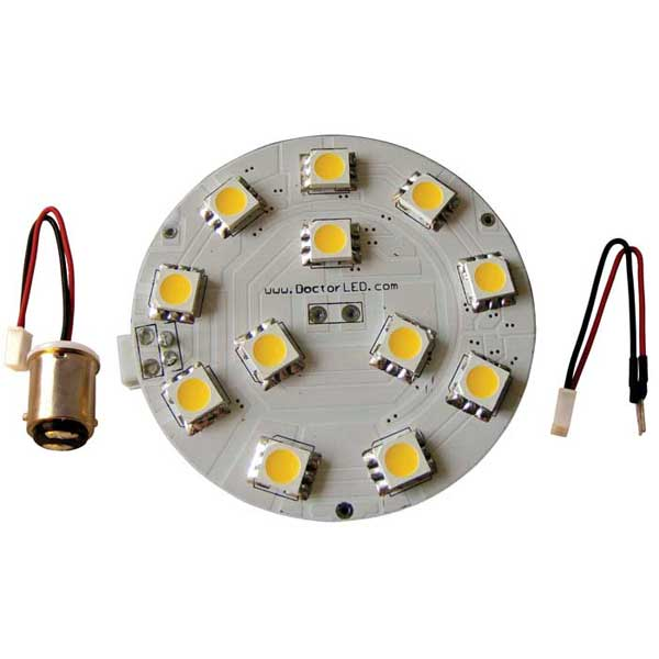 Dr. Led Dome Light LED Kit, 24V, Red/White Light