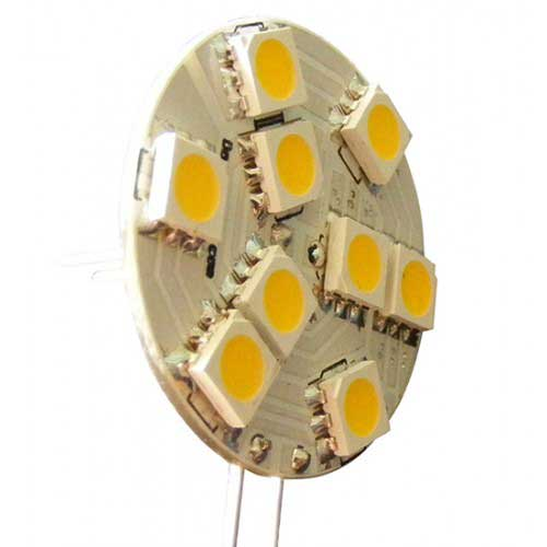 Dr. Led G4 MR11 SMD LED Disk, Blue, 24V