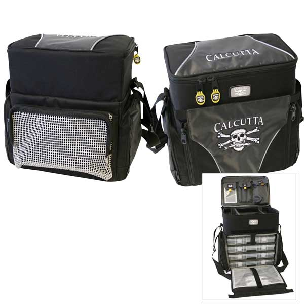 Calcutta Tacklebag, Medium, Five 370 Utility Boxes