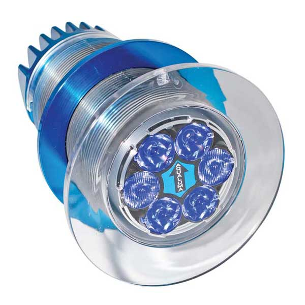 Aqualuma Gen III Series Underwater Light, 6 LED, Blue Sale $506.77 SKU: 14177299 ID# AQLB6 :
