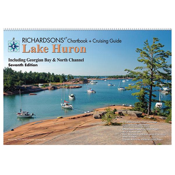 Richardson Publications Lake Huron Chartbook & Cruising Guide, 7th Ed.