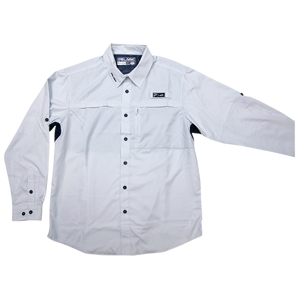 Pelagic Men's Eclipse Guide Long Sleeve Shirt White Sale $69.00 SKU: 14187769 ID# 795-I-M UPC# 182206014187 :
