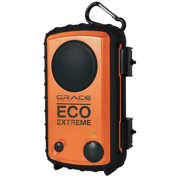 Ecoxgear ECOEXTREME IPX7 Waterproof Case with Built-in Speaker, Orange Sale $39.88 SKU: 14195507 ID# GDI-AQCSE100 UPC# 893153002287 :