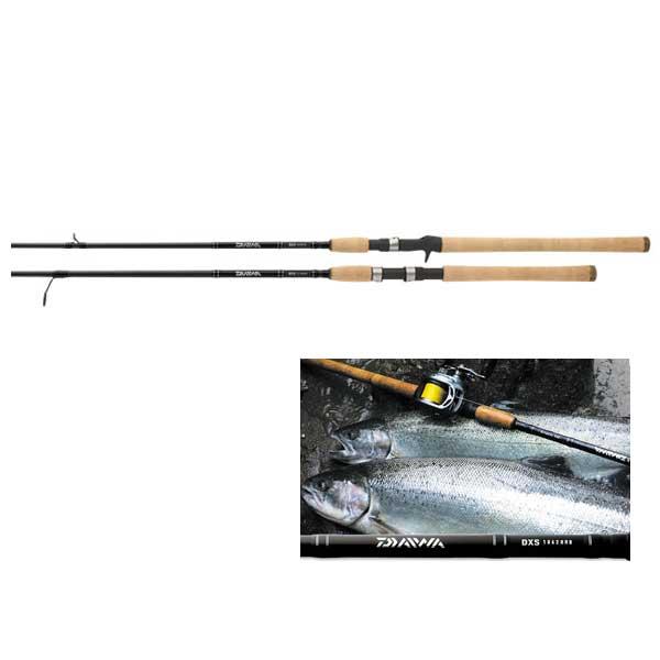 Daiwa DXS Salmon & Steelhead Spinning Rod, Medium Power, 8-17lb. Line Class, 9'6