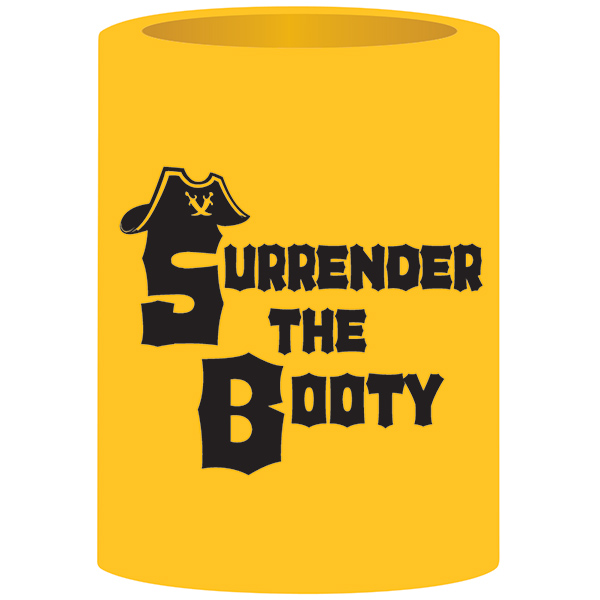 Boatmates Surrender The Booty Can Koozie Sale $2.48 SKU: 14220149 ID# 22117 UPC# 79035221179 :