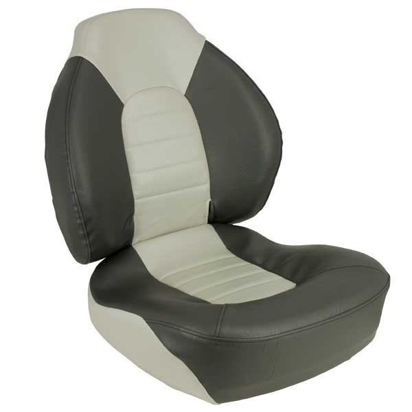 Springfield Fish Pro 100 Mid-Back Seat, Gray/Charcoal