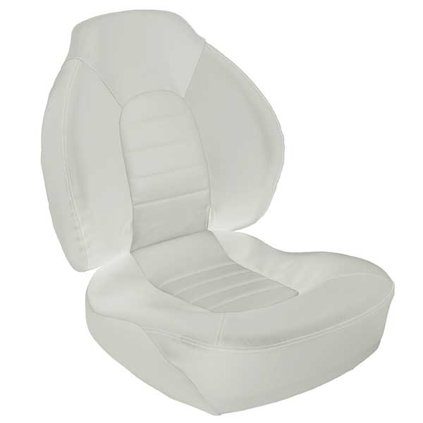 Springfield Fish Pro 100 Mid-Back Seat, White