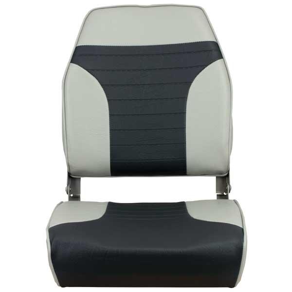Springfield Folding High Back Seat, Gray/Charcoal Sale $69.99 SKU: 14232698 ID# 1040663 UPC# 38132946453 :