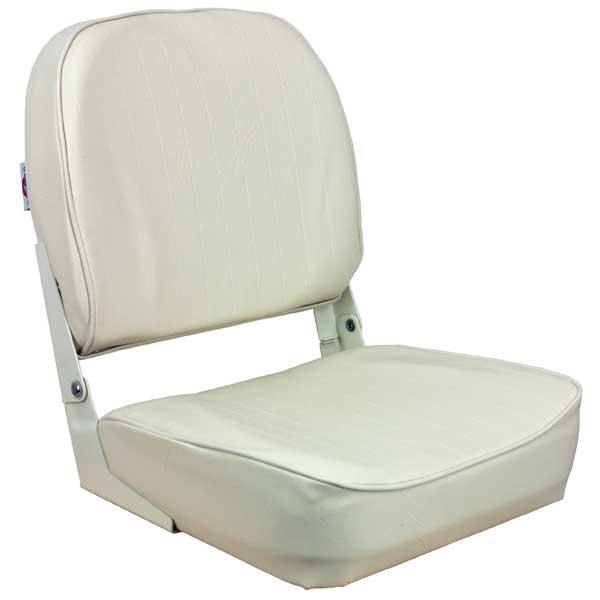 Springfield Low Back Folding Coach Seat, White Sale $49.99 SKU: 14232763 ID# 1040629 UPC# 38132945173 :
