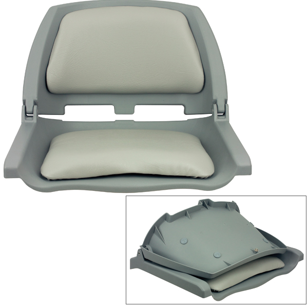 Springfield Traveler Folding Seat, Gray Sale $49.99 SKU: 14232797 ID# 1061100-C UPC# 38132912571 :