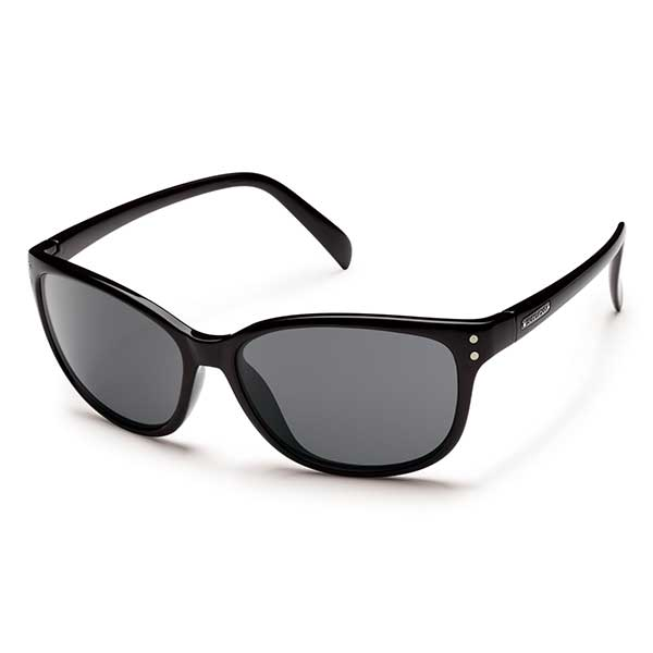 Suncloud Flutter Polarized Sunglasses, Black Frames with Gray Lenses Sale $49.99 SKU: 14239420 ID# S-FEPPGYBK UPC# 715757422837 :