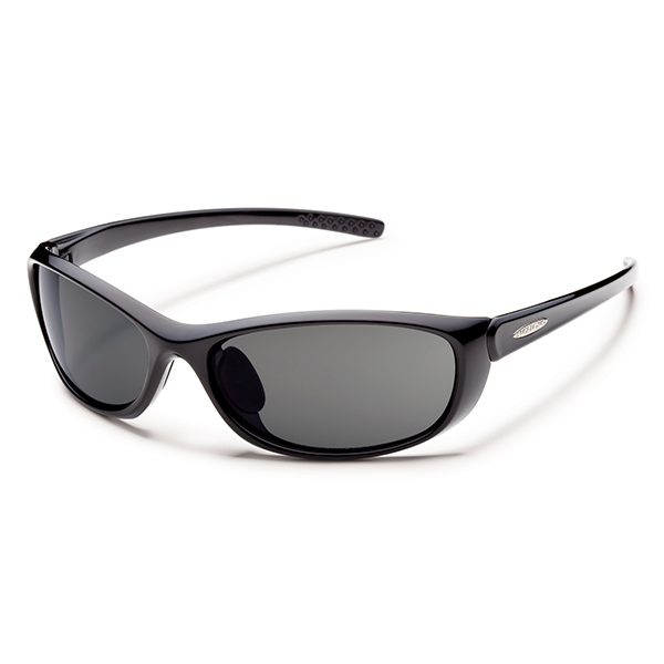 Suncloud Wisp Polarized Sunglasses, Black/gray Frames with Gray Lenses Sale $49.99 SKU: 14239412 ID# S-WSPPGYBK UPC# 715757399986 :