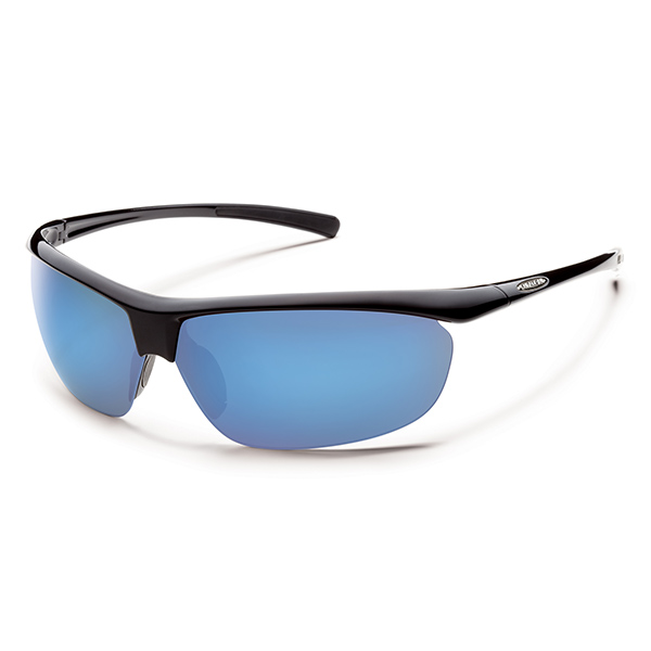 Suncloud Zephyr Polarized Sunglasses, Black Frames with Black/blue Mirror Mirrored Lenses Sale $49.99 SKU: 14239552 ID# S-ZEPPUMBK UPC# 715757414597 :