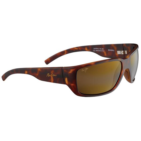 Maui Jim Seawall Sunglasses, Tortoise Brown