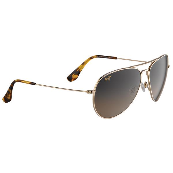 Maui Jim Mavericks Sunglasses, Gold