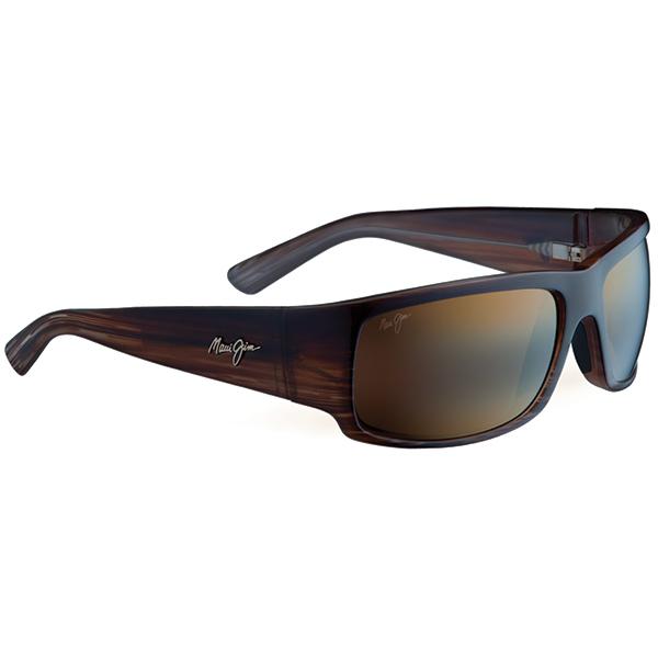 Maui Jim World Cup Sunglasses, Brown Stripe Fade frames with HCL Bronze lenses Sale $229.00 SKU: 14239917 ID# H266-01 UPC# 603429025526 :