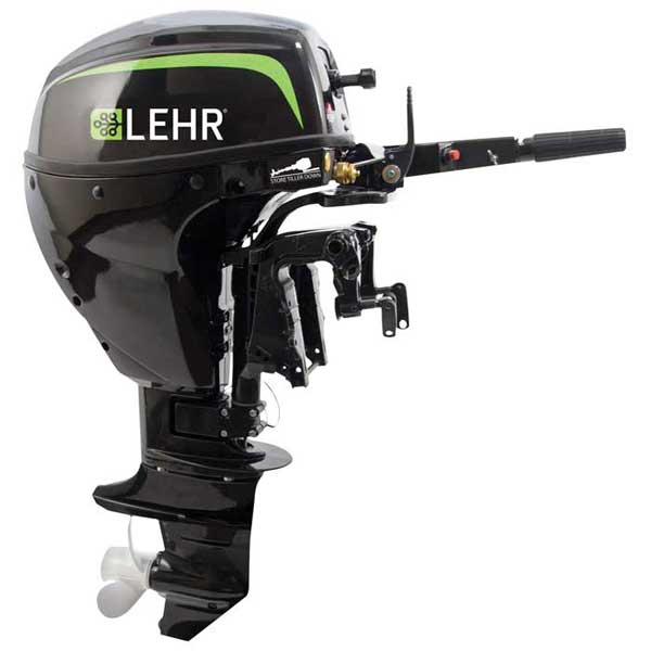 LEHR 9.9hp Propane Powered Outboard Engine, Short Shaft, Internal Electric Start