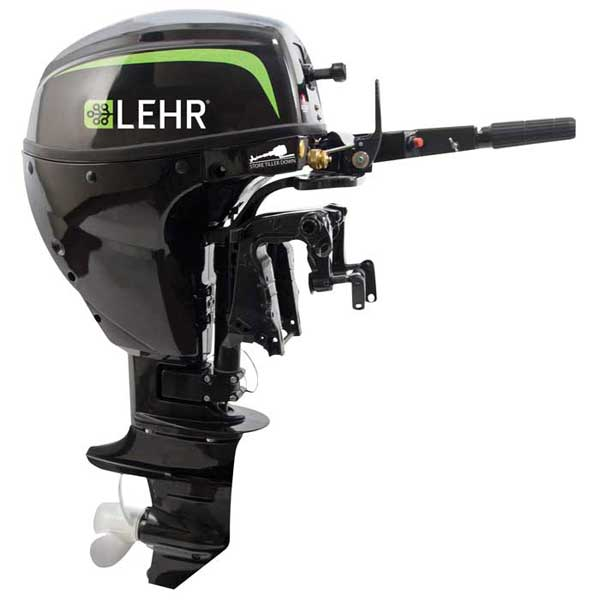 LEHR 9.9hp Propane Powered Outboard Engine, Short Shaft, Electric Start