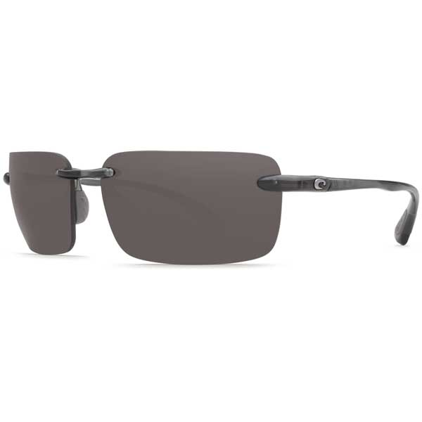Costa Cayan Sunglasses, Thunder Gray Frames with 580 Gray Lenses