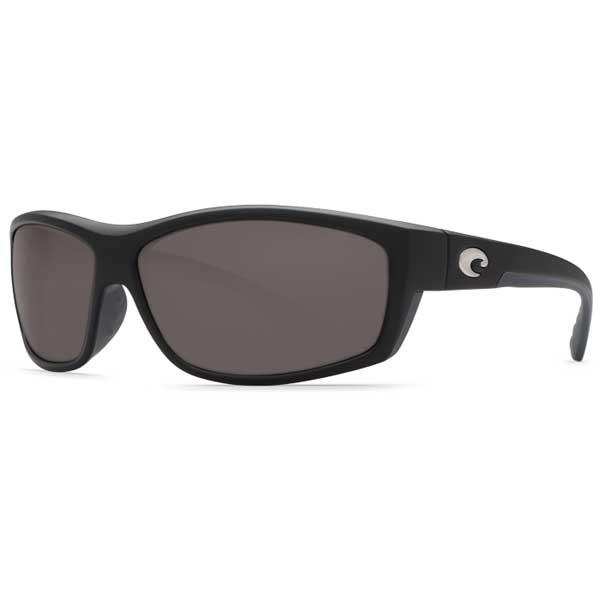 Costa Saltbreak Sunglasses, Black Frames with 580 Gray Lenses