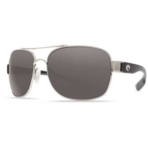Costa Cocos Sunglasses, Palladium Frames with 580 Gray Plastic Lenses Sale $199.00 SKU: 14248785 ID# CC 21 OGP UPC# 97963488495 :