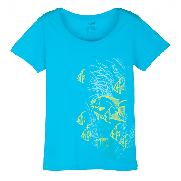 Women's Queen Angel And Grasses Tee