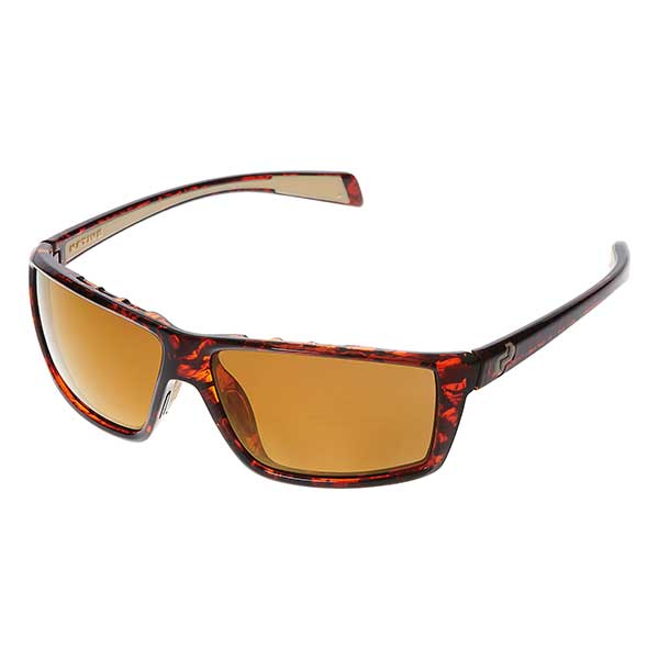 Native Eyewear Sidecar Sunglasses, Maple Tortoise Frames with Bronze Reflex Polarized Lenses Tortoise/brown