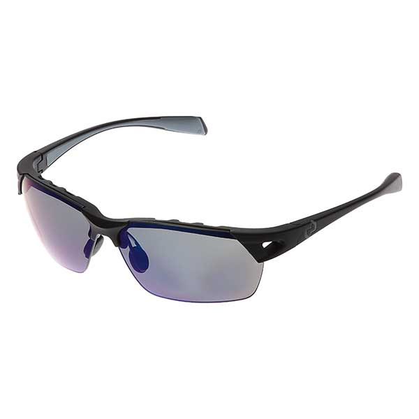 Native Eyewear Eastrim Sunglasses, Asphalt Frames with Gray/blue Polarized Reflex Lenses