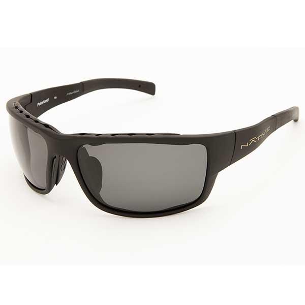 Native Eyewear Cable Sunglasses, Asphalt Frames with Gray Polarized Lenses Gray Sale $149.00 SKU: 14255632 ID# 131 302 502 UPC# 764824006234 :