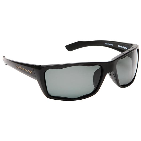Native Eyewear Wazee Sunglasses, Black Frames with Copper Polarized Lenses Sale $89.00 SKU: 14255376 ID# 135 302 502 UPC# 764824006883 :