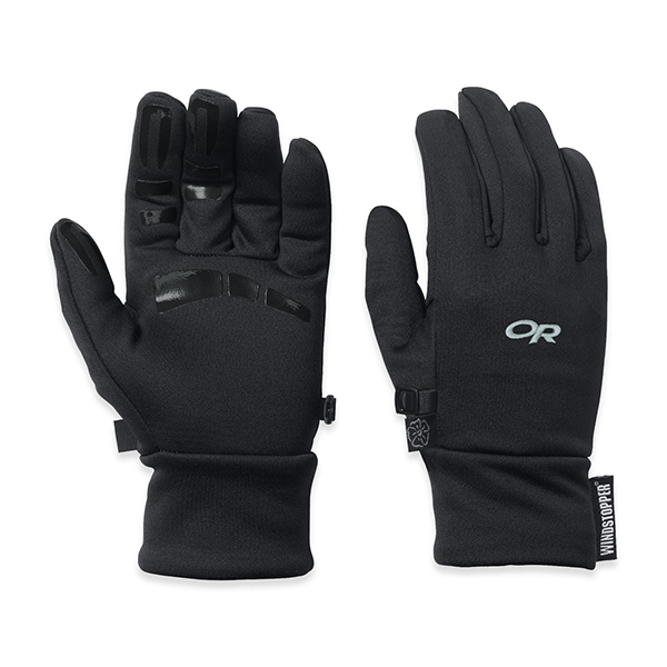 Outdoor Research Women's Backstop Gloves, Black, L Sale $37.00 SKU: 14256101 ID# 70218001L UPC# 727602171333 :