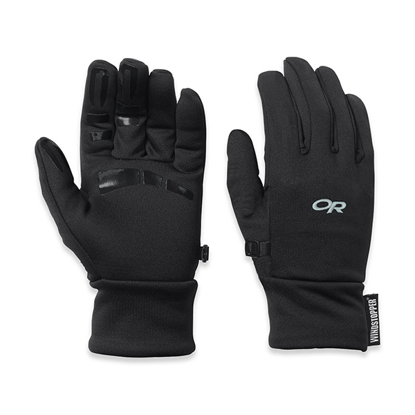 Outdoor Research Men's Backstop Gloves Black Sale $37.00 SKU: 14256044 ID# 70223001S UPC# 727602171371 :