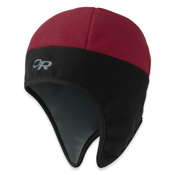 Outdoor Research Peruvian Hat, Red, S Red/black