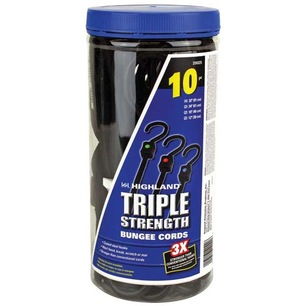 Highland Triple Strength Shock Cord Ten Pack