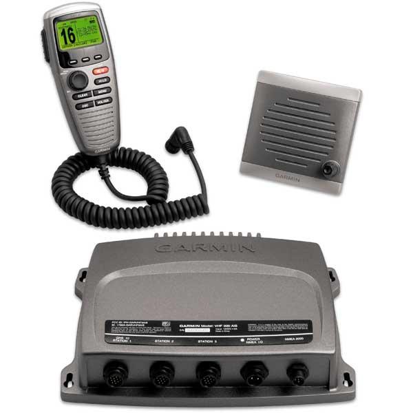 Garmin VHF 300 AIS Handset VHF Radio, North America, Black
