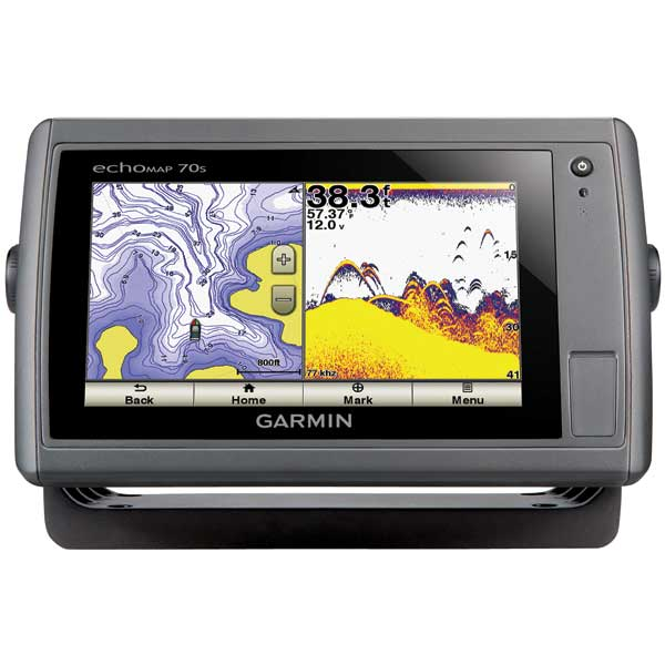 echoMAP™ 70s Fishfinder/GPS Combo, US coastal maps, no Transducer
