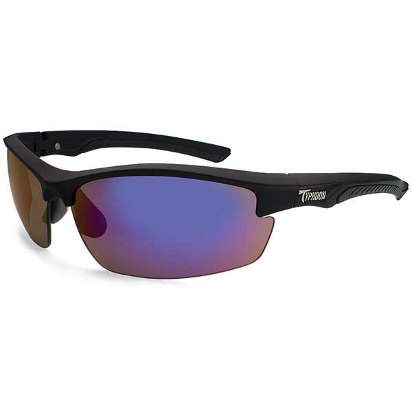 Typhoon Optics Mariner Sunglasses, Matte Black Frames with Meridian Black_blue Mirror Lenses Sale $74.99 SKU: 14271423 ID# 14271423 UPC# 45733319487 :