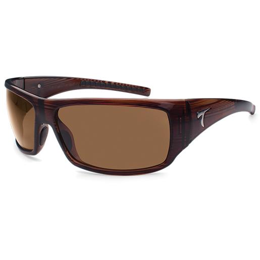 Typhoon Optics Corcovado Polarized Sunglasses, Brown Stripe Crystal Frames, Sunset Brown Lenses Brown Sale $49.88 SKU: 14271407 ID# 965TBRSB :